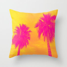 The Palms Throw Pillow