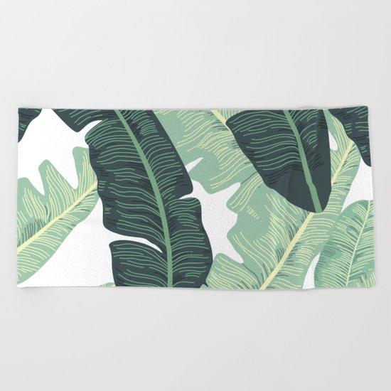 BANANA LEAVES 2 Beach Towel
