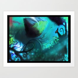 dreamworld Art Print