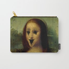 Haunted Mona Lisa Carry-All Pouch