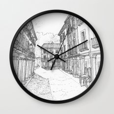 Calle Mayor of Alcalá Wall Clock