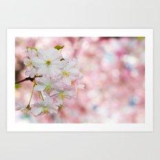 finest spring time Art Print