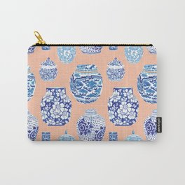 Chinoiserie Ginger Jar Collection No. 1 Carry-All Pouch