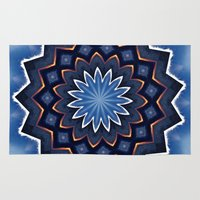 buddha Area & Throw Rugs featuring Buddha by Julie Maxwell
