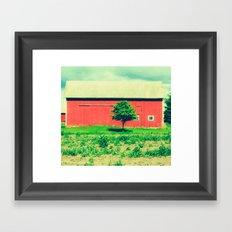 Nicholson barn (2)  Framed Art Print