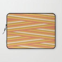 stripey sunny square Laptop Sleeve