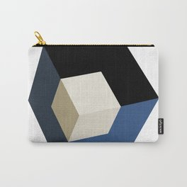 3D effect cube Carry-All Pouch