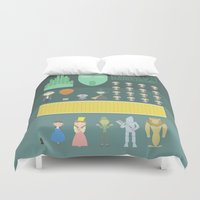 oz Duvet Covers featuring Wizard of Oz by Seez