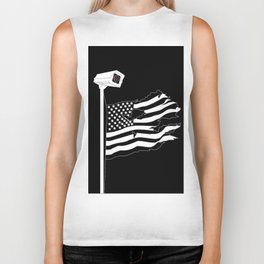 And the star-spangled banner in triumph shall wave Biker Tank