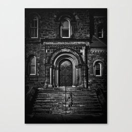 University College East Entrance Toronto Canada Canvas Print