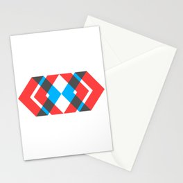 A Picture With Some Chevrons Stationery Cards