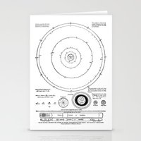 solar system Stationery Cards featuring Solar System by Public Demesne