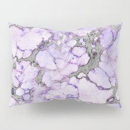 Lavender Marble Pillow Sham