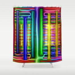 Colorful plastics ... Shower Curtain