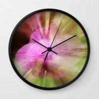big bang Wall Clocks featuring Big Bang by Minartesia