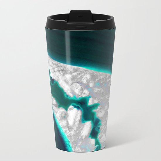 Fluo Agate Metal Travel Mug