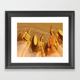 300 Framed Art Print