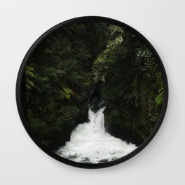 Kaituna Waterfall Wall Clock