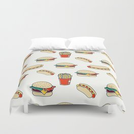 Junk Food Duvet Cover