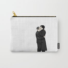 Kissing Sherlock and John Carry-All Pouch