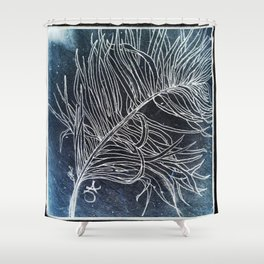 Palm Leaf Earth Day and Easter Shower Curtain