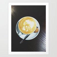 Cappuccino, Please Art Print