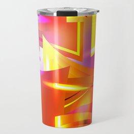 Golden Angelic Armor (Geometric Abstract Digital Art) #08 Travel Mug