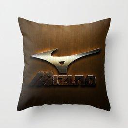 Golden Logo Throw Pillow
