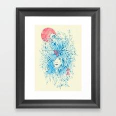 Ariel Framed Art Print