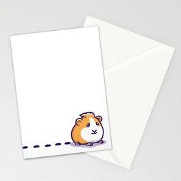 Guinea Pig Pellet Stationery Cards
