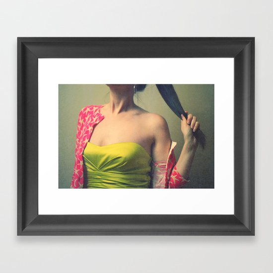 off with her head! Framed Art Print