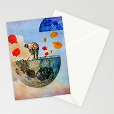 The gardener of the moon Stationery Cards