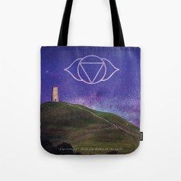 Third Eye of the Earth - Glastonbury Tote Bag