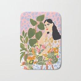 Botanical Lady Bath Mat
