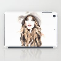 downton abbey iPad Cases featuring Abbey by Esther Kang