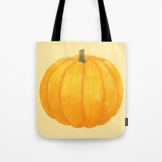 Orange Pumpkin Tote Bag
