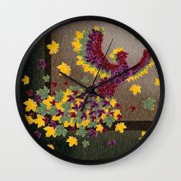 Phoenix Wall Clock