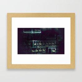 Jay-Z Periodic Table part 2 Framed Art Print