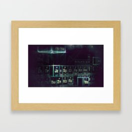 Jay-Z Periodic Table part 2 Framed Art Print
