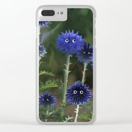 These flowers are great in the salad :) Clear iPhone Case