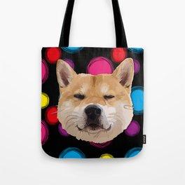 Hachiko Dog Tote Bag