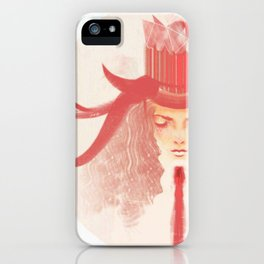 Crown Ruby iPhone Case