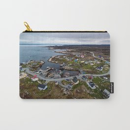 Winding Through The Cove Carry-All Pouch