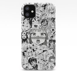Ahegao classic iPhone Case