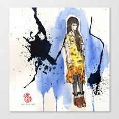 Standing Canvas Print