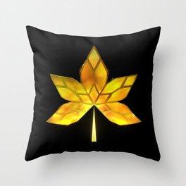 Autumn Leaves: Frame 070 Throw Pillow