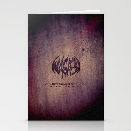 WASA3I.Rust. Stationery Cards