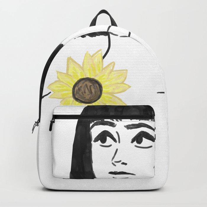 Sun flower Backpack