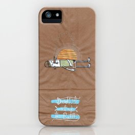 Drink it out of the bottle iPhone Case