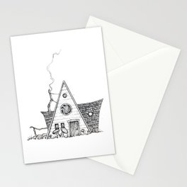 Hermit Cabin Stationery Cards